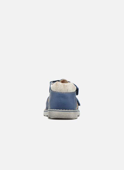 Sandales et nu-pieds GBB Mathurin Bleu vue droite