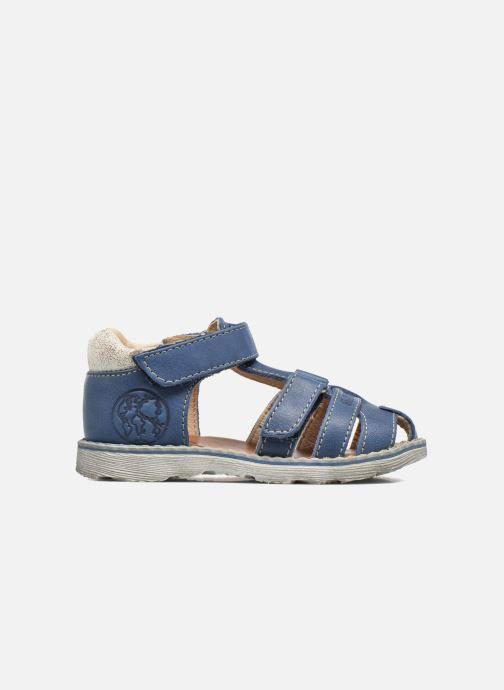 Sandales et nu-pieds GBB Mathurin Bleu vue derrière