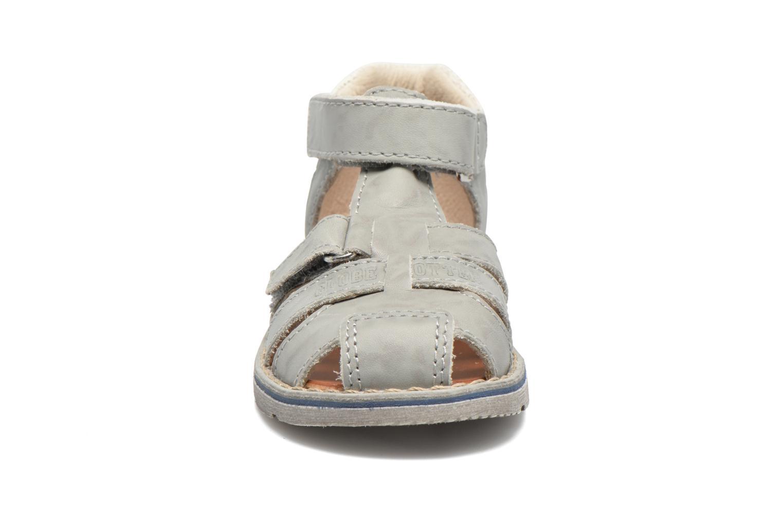 Sandales et nu-pieds GBB Mathurin Gris vue portées chaussures