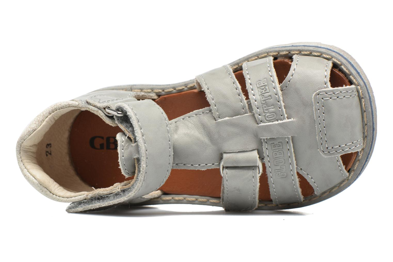 Sandales et nu-pieds GBB Mathurin Gris vue gauche