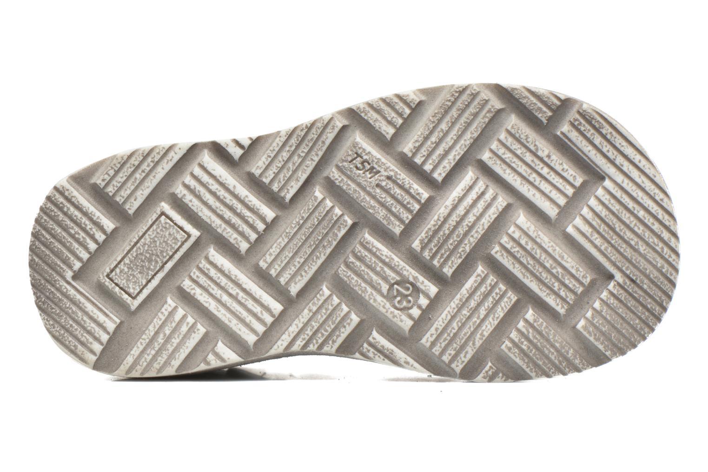 Sandales et nu-pieds GBB Mathurin Gris vue haut