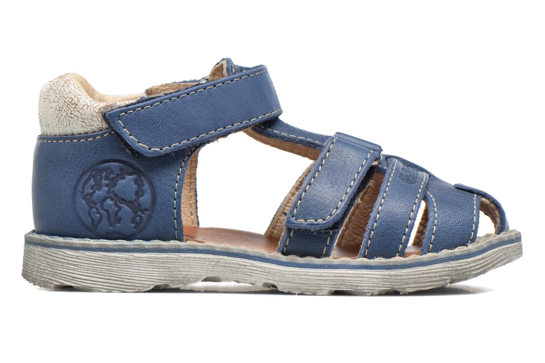 Sandals GBB Mathurin Blue back view
