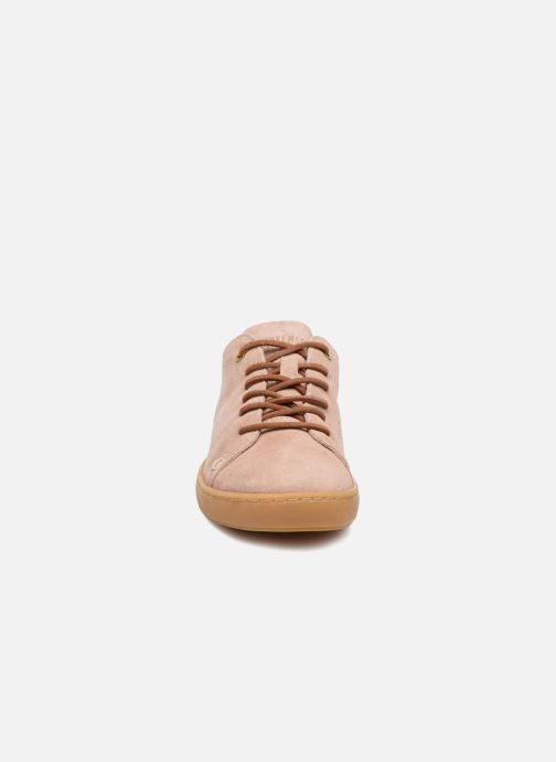 Baskets Birkenstock Arran Rose vue portées chaussures