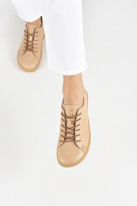 Sneaker Birkenstock Arran beige ansicht von unten / tasche getragen