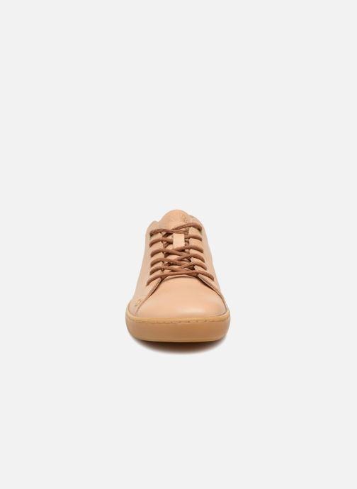 Sneaker Birkenstock Arran beige schuhe getragen