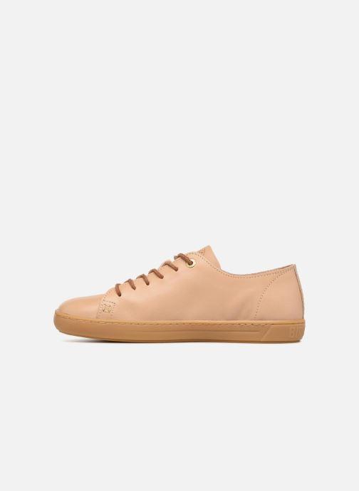 Sneaker Birkenstock Arran beige ansicht von vorne