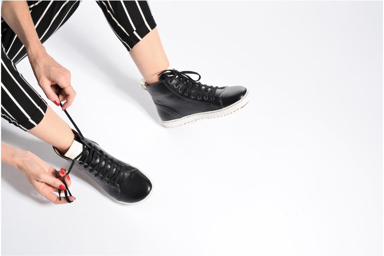 Zapatos con cordones Birkenstock Bartlett W Negro vista de abajo