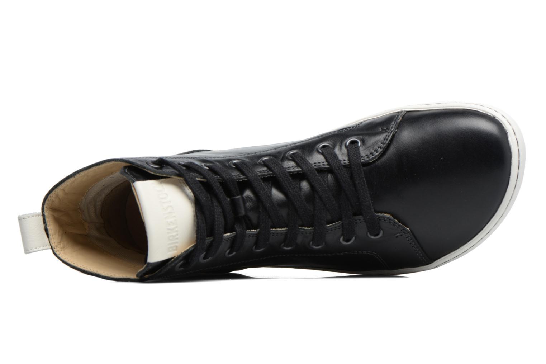 Zapatos con cordones Birkenstock Bartlett W Negro vista lateral izquierda