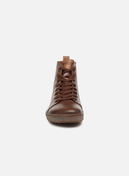 Baskets Birkenstock Bartlett Marron vue portées chaussures