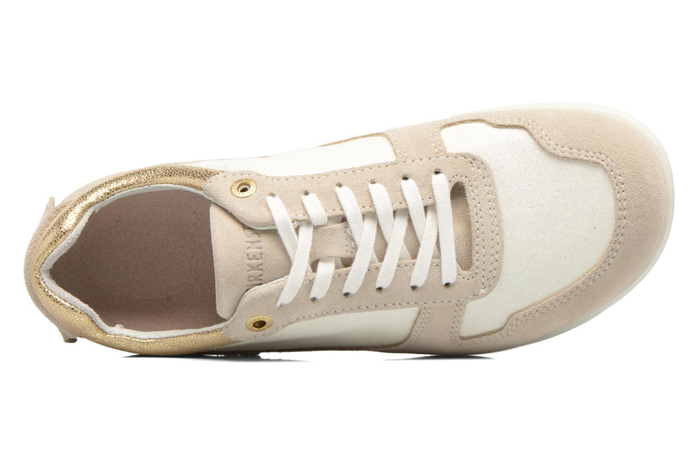 Sneaker Birkenstock Cincinnati beige ansicht von links