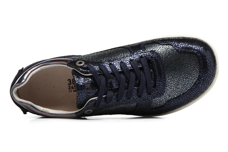 Sneakers Birkenstock Cincinnati Azzurro immagine sinistra