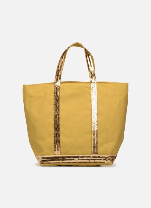 Handväskor Vanessa Bruno Cabas M Gul bild från framsidan