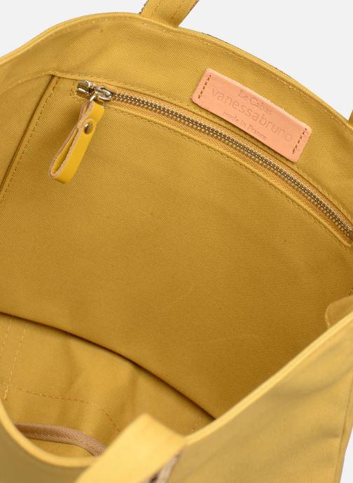 Handväskor Vanessa Bruno Cabas M Gul bild från baksidan