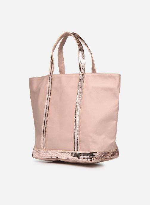 Handtaschen Vanessa Bruno Cabas M rosa schuhe getragen