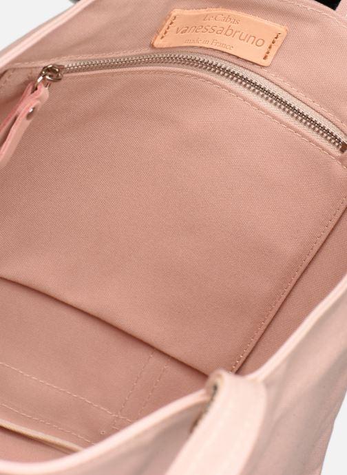 Handtaschen Vanessa Bruno Cabas M rosa ansicht von hinten