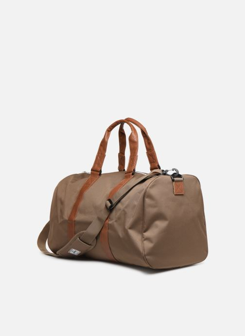 Sports bags Herschel Novel Brown view from the right