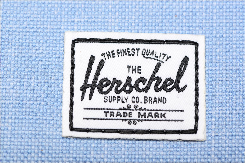 Petite Maroquinerie Herschel Oxford Pouch Bleu vue gauche