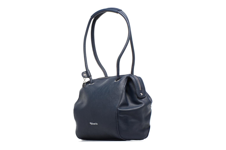 Borse Tamaris Denise Bowling Bag Azzurro modello indossato