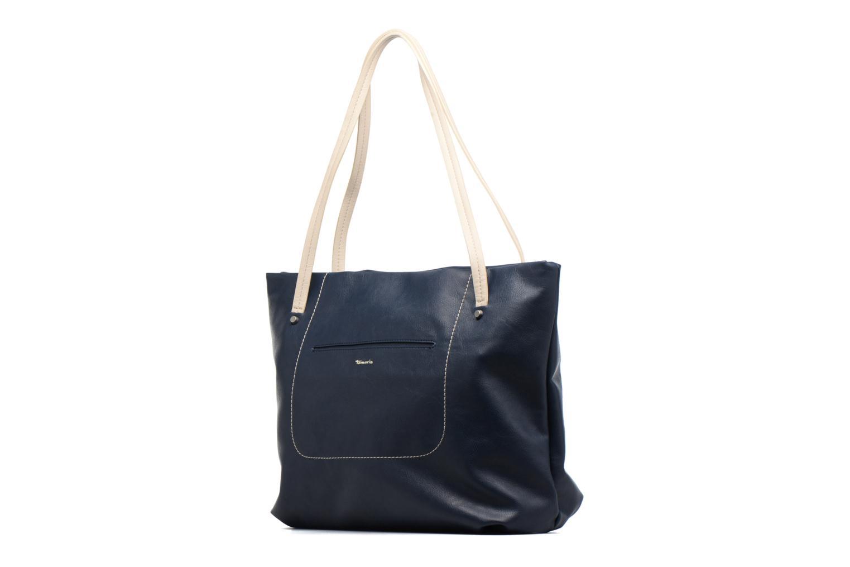 Sacs à main Tamaris Pauline Shopping Bag Bleu vue portées chaussures
