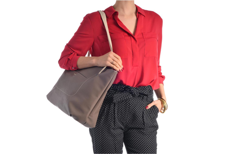 Sacs à main Tamaris Pauline Shopping Bag Bleu vue haut