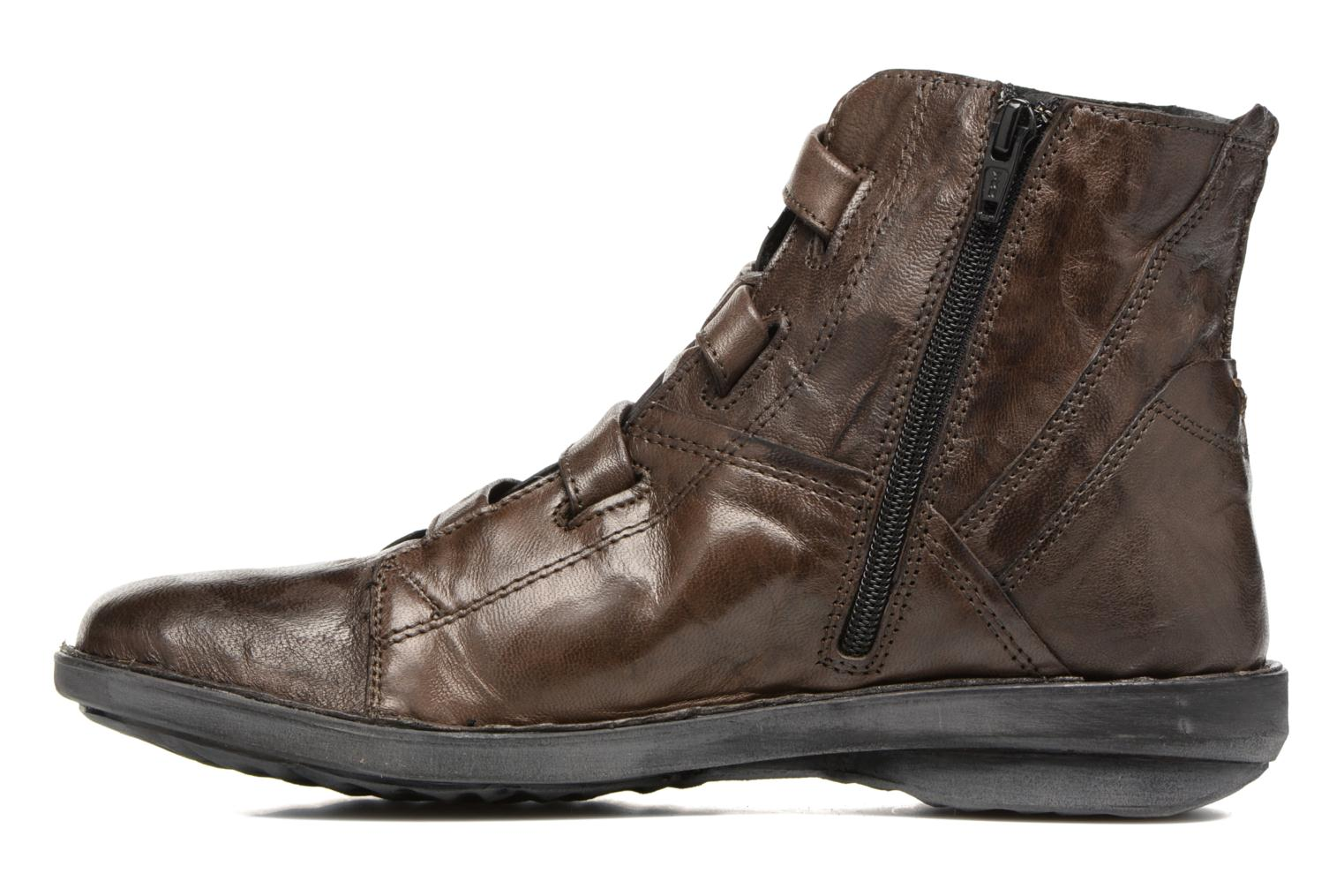 Ankle boots Khrio Tali Grey front view