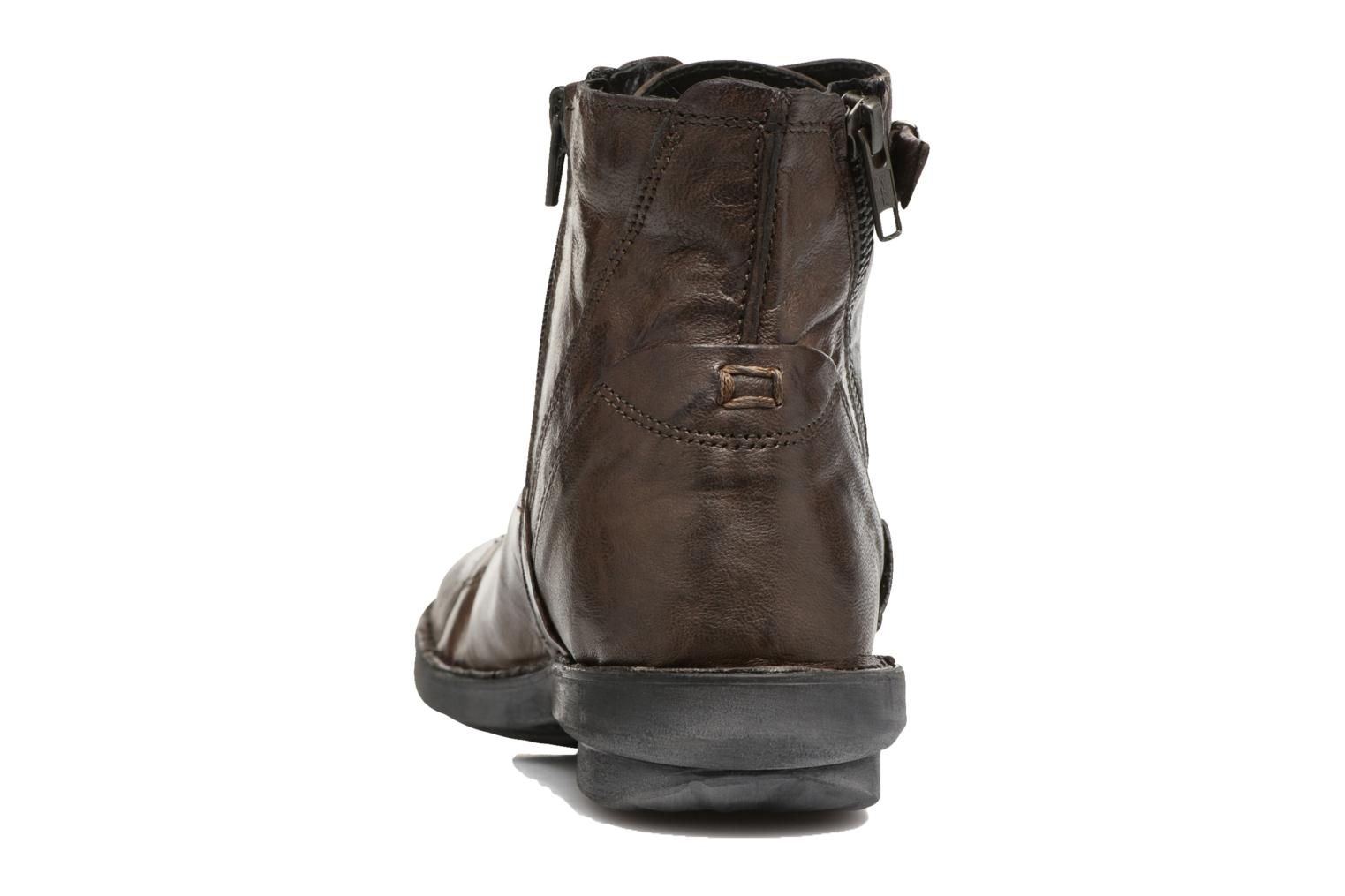 Ankle boots Khrio Tali Grey view from the right