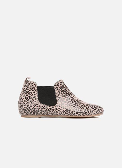 Boots en enkellaarsjes Ippon Vintage Cult Leo Wit achterkant
