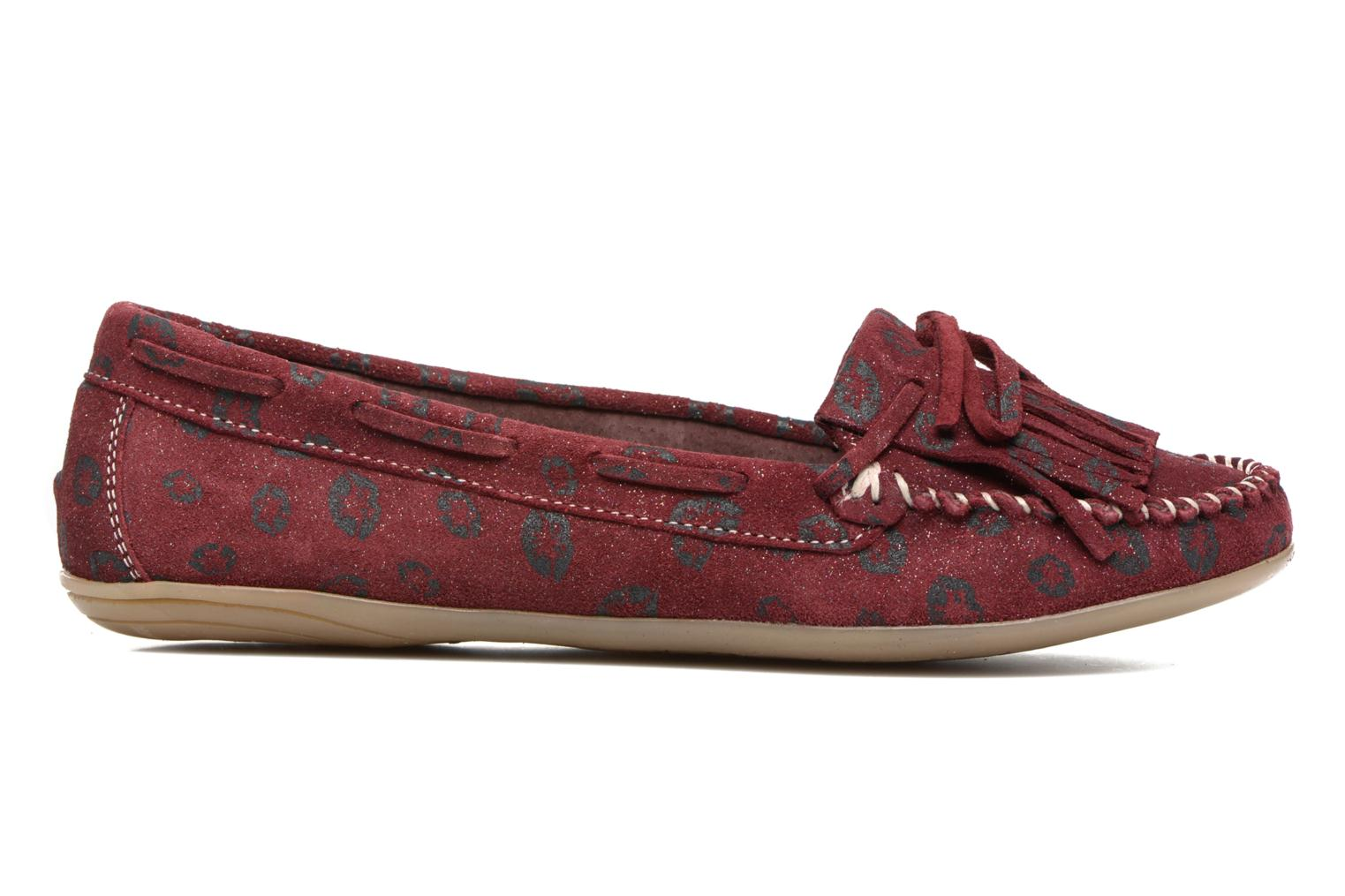 Loafers Ippon Vintage Moc Kiss Burgundy back view