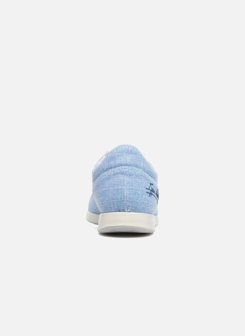 Baskets Ippon Vintage Run Venus Bleu vue droite