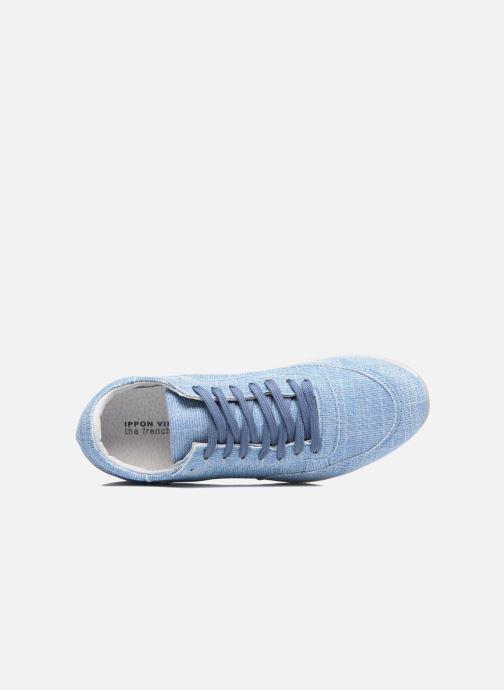 Baskets Ippon Vintage Run Venus Bleu vue gauche