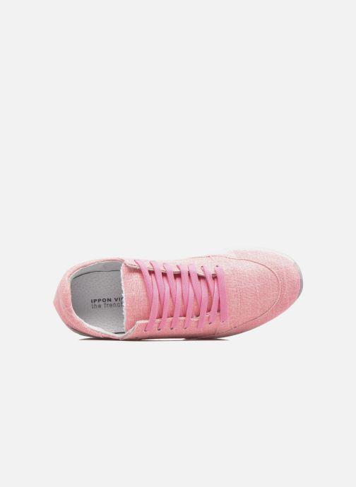 Sneakers Ippon Vintage Run Venus Rosa immagine sinistra