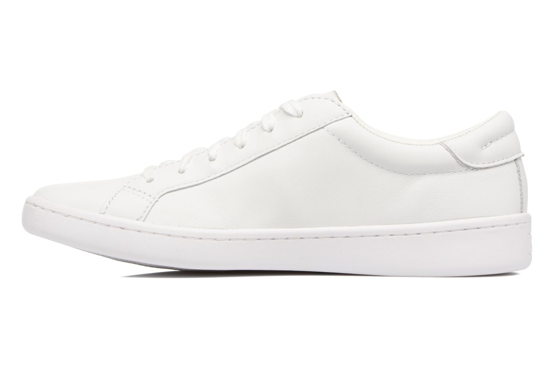 Baskets Keds Ace Leather Blanc vue face