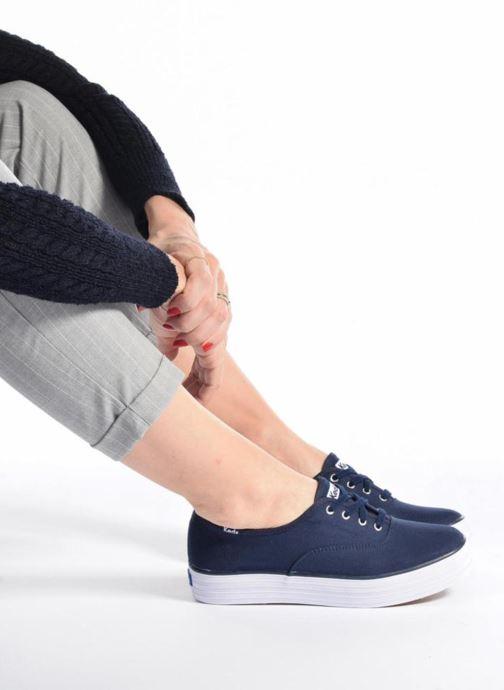 Sneakers Keds Triple Peacoat Blauw onder