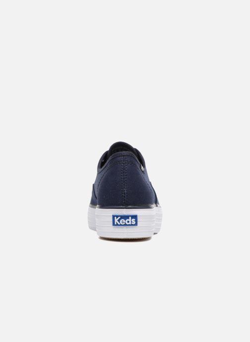 Sneakers Keds Triple Peacoat Blauw rechts