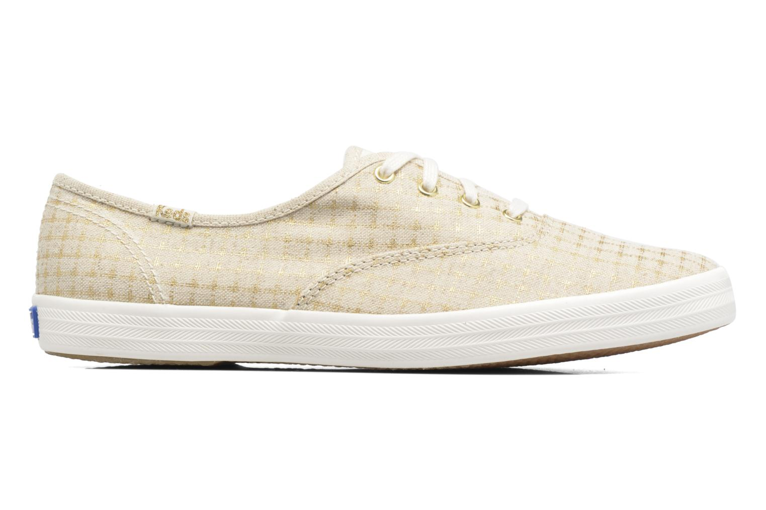 Sneakers Keds Champion Foil Dot Nat Beige immagine posteriore