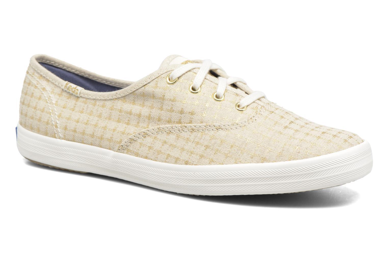 Sneakers Keds Champion Foil Dot Nat Beige vedi dettaglio/paio