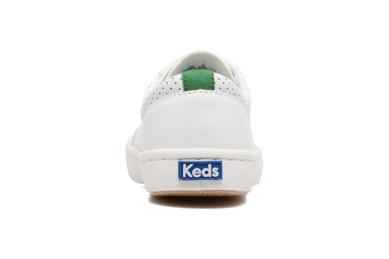 Sneakers Keds Tournament Perf Bianco immagine destra