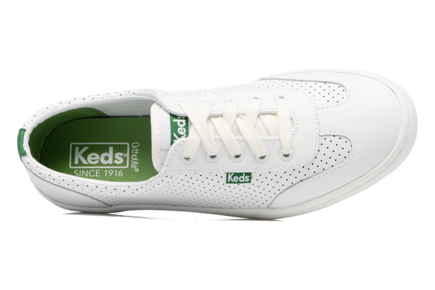Sneakers Keds Tournament Perf Bianco immagine sinistra