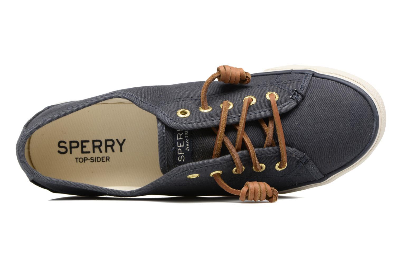 Baskets Sperry Seacoast Bleu vue gauche