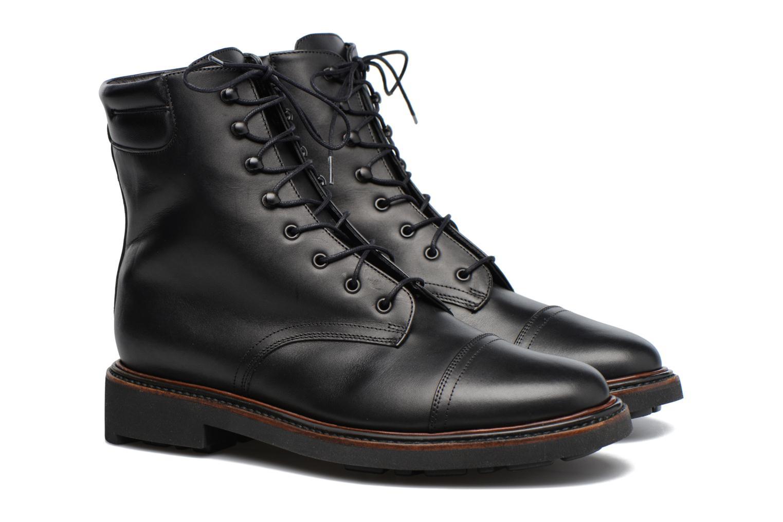 Bottines et boots Clergerie JOSEPH Noir vue 3/4