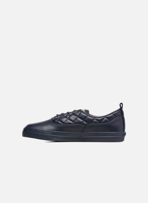 Trainers Love Moschino Superquilted Sneaker Blue front view