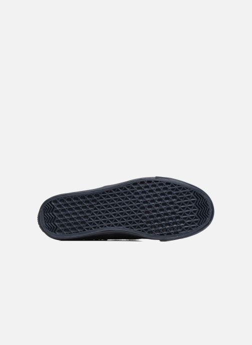 Baskets Love Moschino Superquilted Sneaker Bleu vue haut