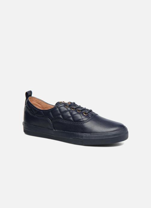 Baskets Love Moschino Superquilted Sneaker Bleu vue détail/paire