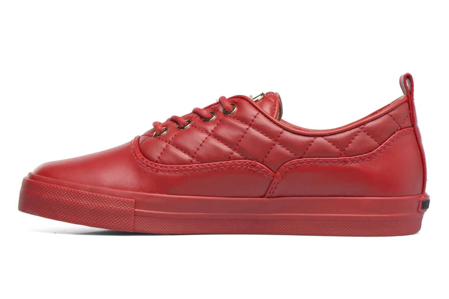 Sneakers Love Moschino Superquilted Sneaker Rood voorkant