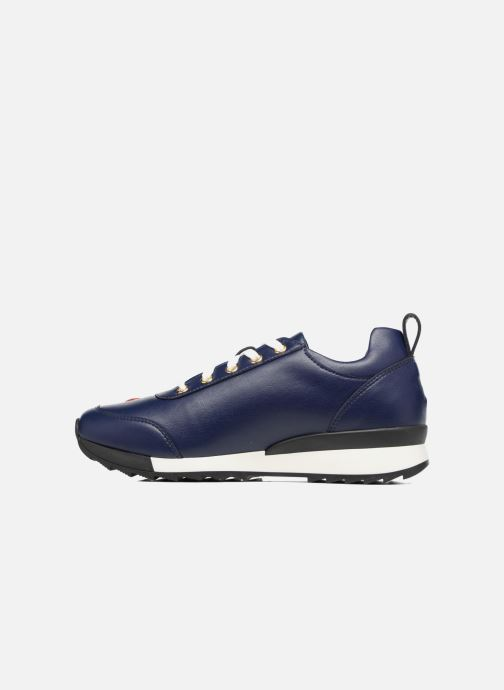 Trainers Love Moschino Charming Sneaker Blue front view