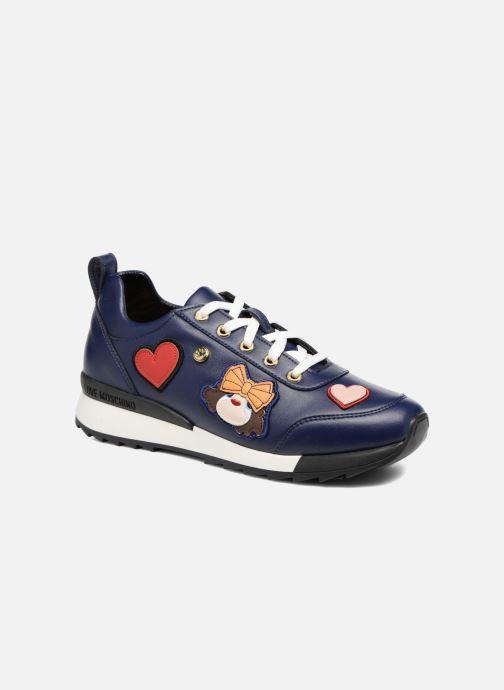 Sneakers Love Moschino Charming Sneaker Blå detaljeret billede af skoene