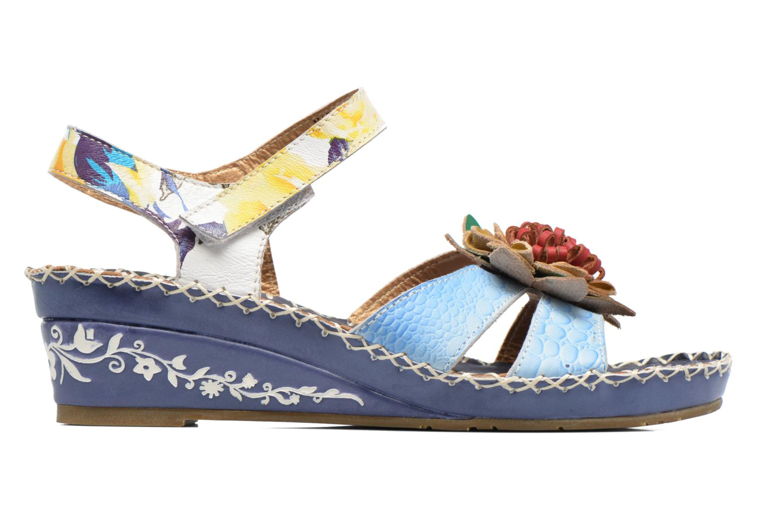 Sandals Laura Vita Valmon Blue back view