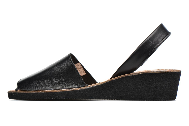 Sandalen Laura Vita Soft Zwart voorkant