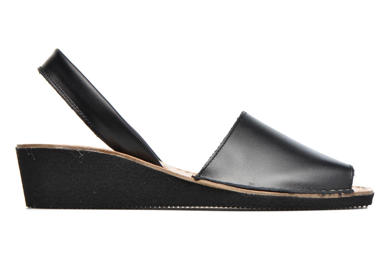 Sandalen Laura Vita Soft Zwart achterkant