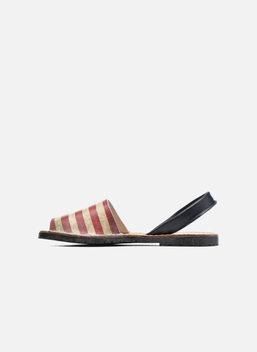 Sandales et nu-pieds Laura Vita Sofie Multicolore vue face